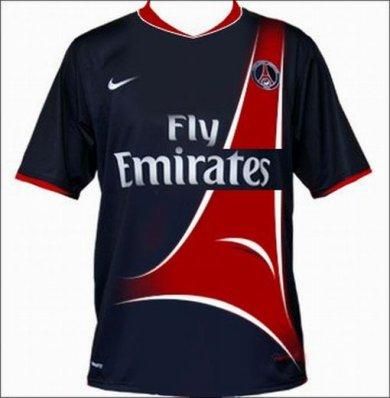 voici le maillot du psg 2010-2011