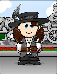Vous le reconnaissez? C'est D'Artagnan en petit bonhomme ! Et oui ! Je n'avais pas grand chose à faire donc voila! Il n'est pas mignon?!Article fait pas Andréanne