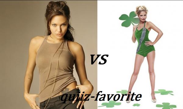 Actrice 1  ( Angie VS Sarah )