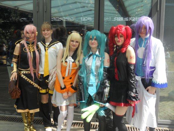 Photos Japan expo 2013 (Jeudi Juillet 2013)