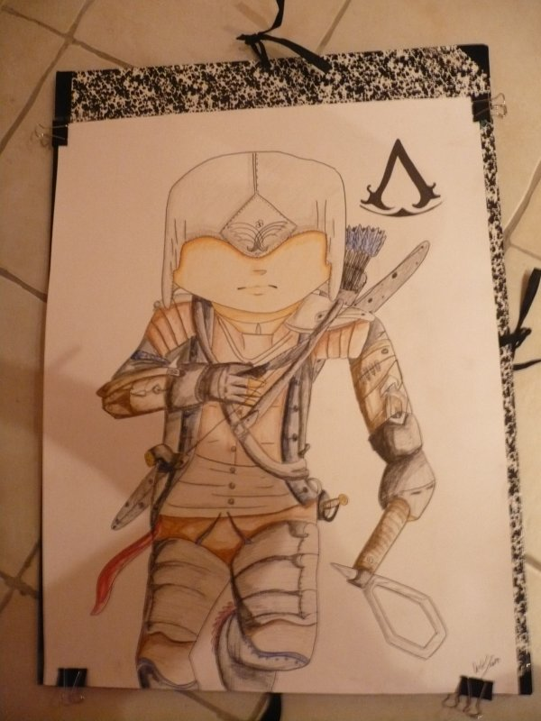 Poster Chibi Assassin's Creed