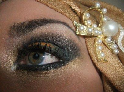 Golden eye...