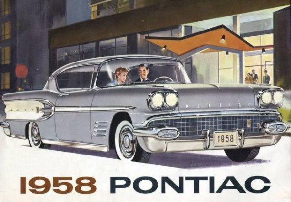 PONTIAC 1958