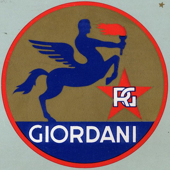 Giordani à pédales