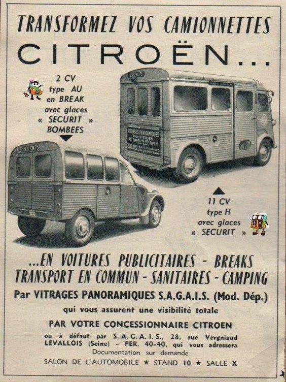 Publicités anciennnes