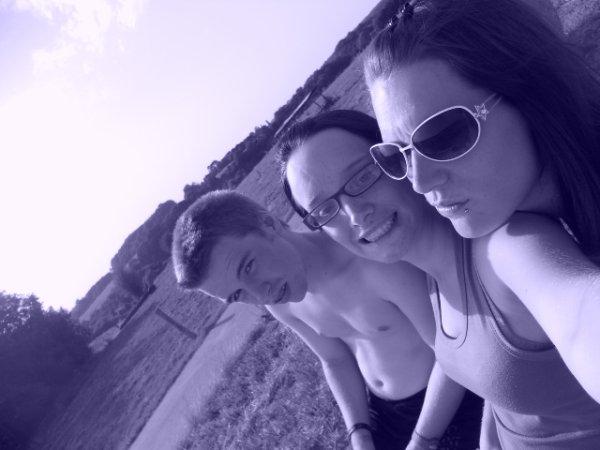 Nous 3, ami depuis tellement de temps :)
