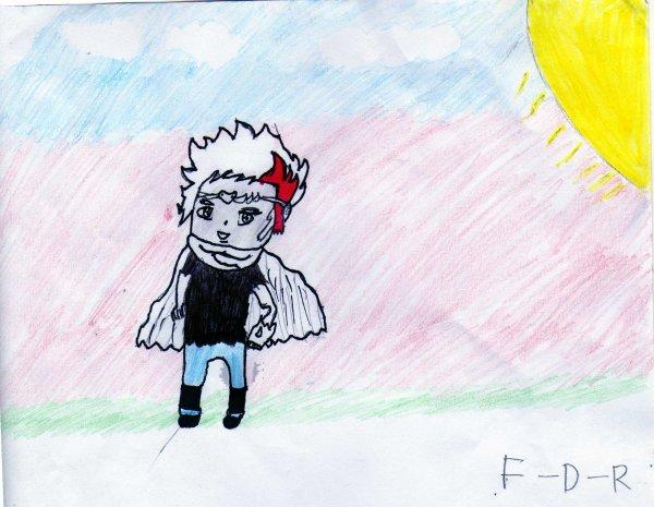 Mon premier dessin de Ruyuga en chibi sur skyrock