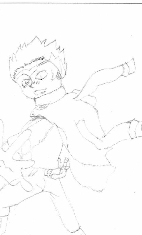 dessin de ryuga