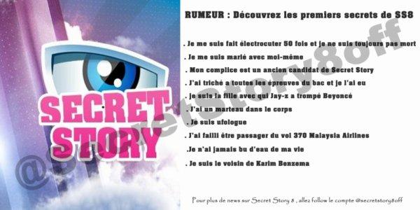 Les premiers secrets de Secret Story 8.