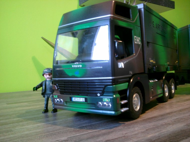 Camion playmobil militaire passion - Playmobil camion ...