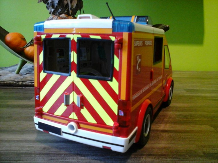 Vsav pompiers de paris passion - Playmobil samu ...
