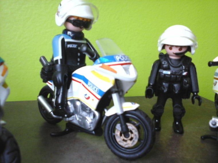 CSI  police nationale playmobil
