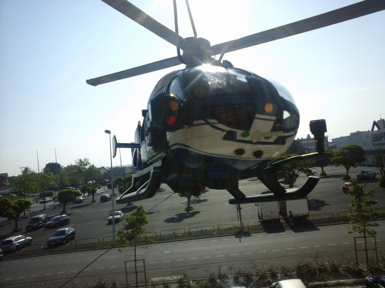 nouven EC135 de la gendarmerie