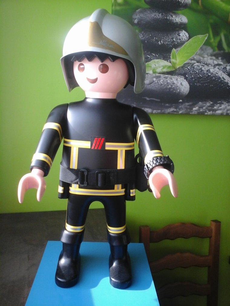 gant playmobil pompier - Playmobil Pompier