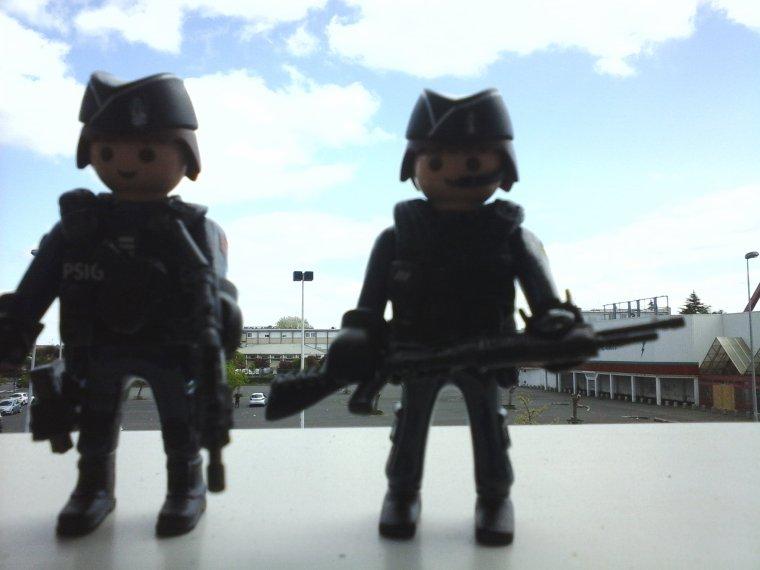 gendarmes du PSIG