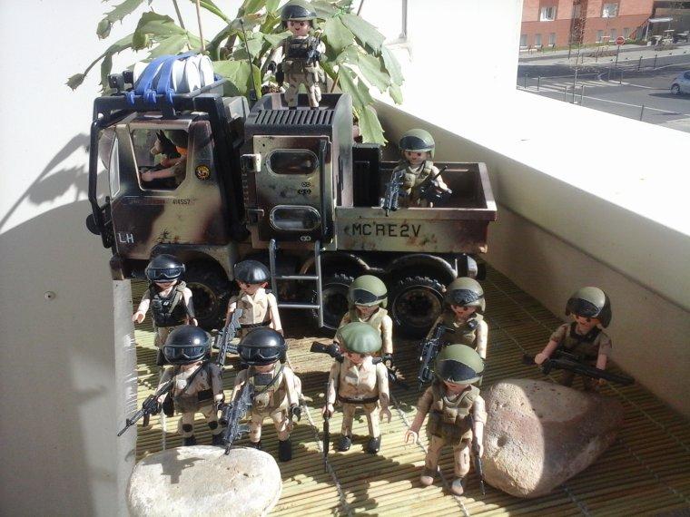 playmobil militaire