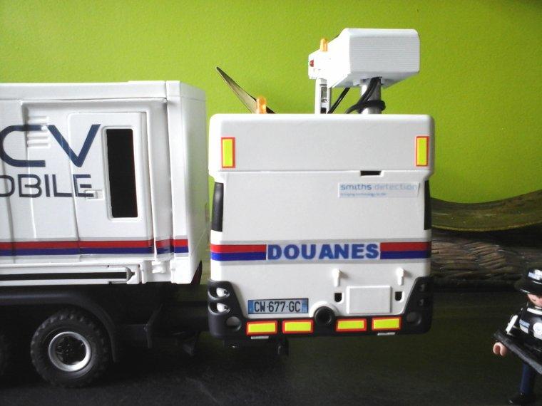 scanner HCV  des douanes