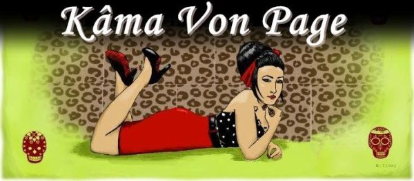 Maria 31 ans dit Kâma Von Page, maman, sicilienne, psychobilly girl