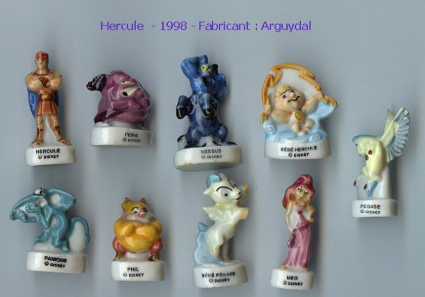 Série complète  Hercule  1998  Arguydal