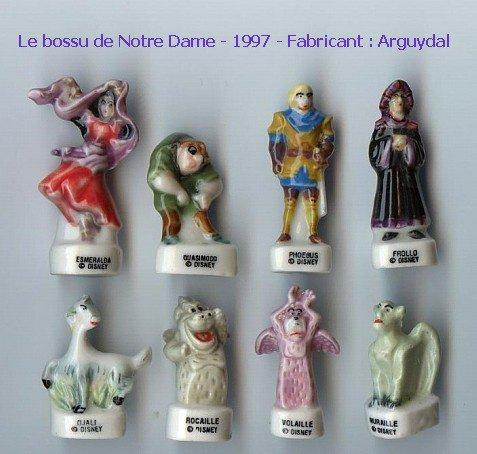 Série complète Le bossu de notre dame  1997  Arguydal