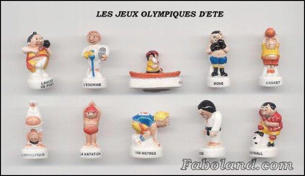 Série complète  Jeux olympiques d'été  2008  Nordia