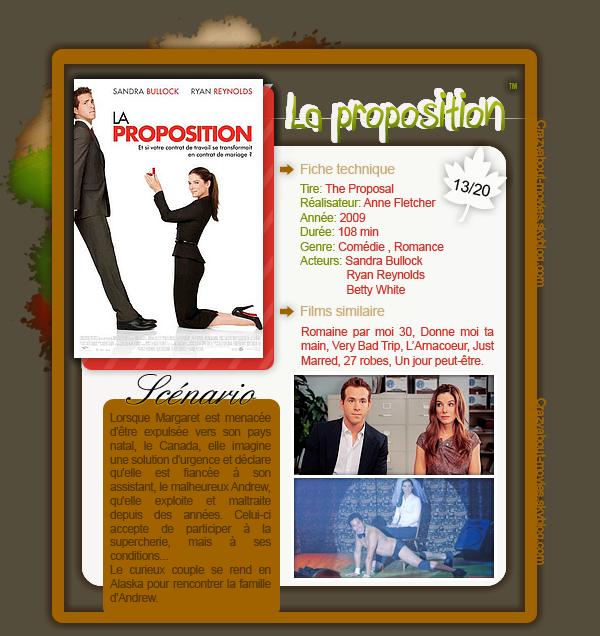 La Proposition de Anne Fletcher avec Sandra Bullock, Ryan Reynolds, Betty White