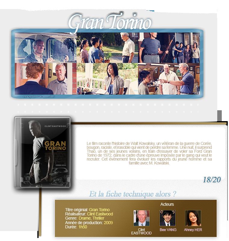 Gran Torino de Clint Eastwood avec Clint Eastwood, Bee Vang et Ahney Her