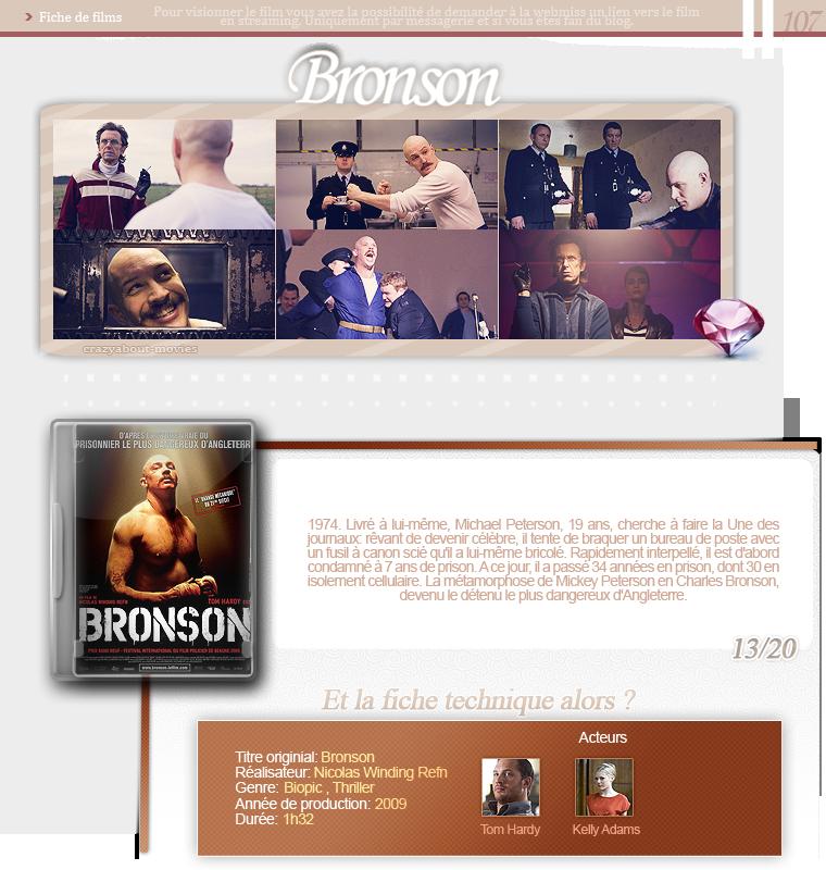 Branson de Nicolas Winding Refn avec Tom Hardy et Kelly Adams
