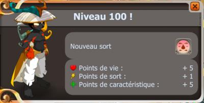 Sacrieur up 100 !
