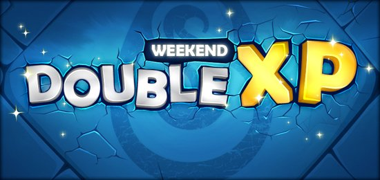 Week-End Double XP !