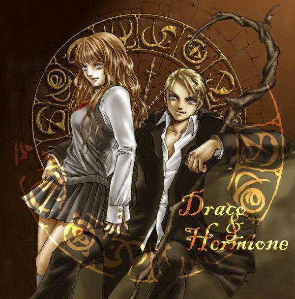 Hermione et Draco sont secrètement datant fanfiction