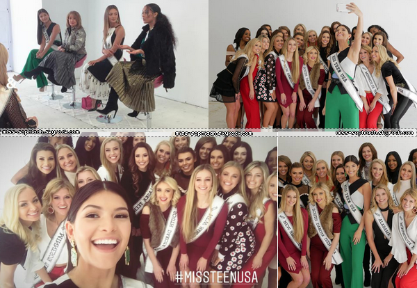 8-9/02: Fashion Week & Rencontre avec les candidates Miss Teen USA 2018