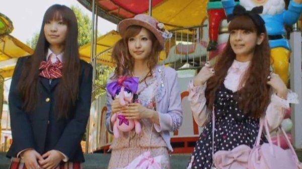 # Les trois styles kawaii (côté fille) ~♥