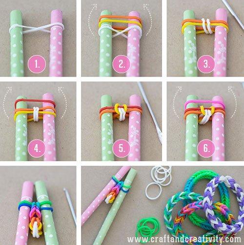 diy bracelets rainbow loom blog de my style my inspiration. Black Bedroom Furniture Sets. Home Design Ideas