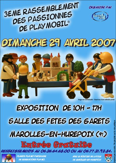 Affiches d'exposition Playmobil