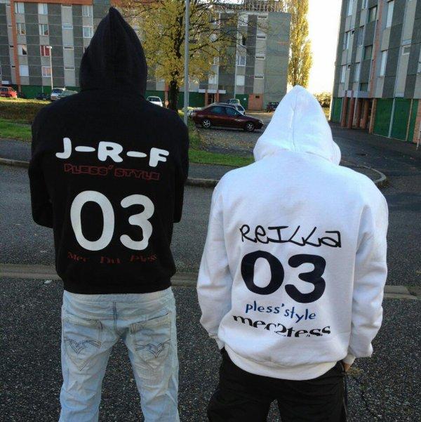 Reilla & JRF - Parce qu'on vient d'la tess