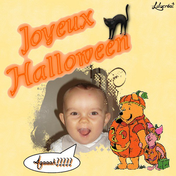 Création Halloween pour mon fils