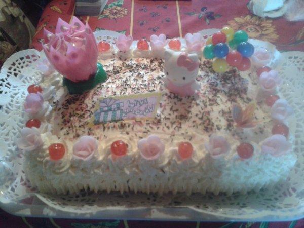 gâteau d'anniversaire 1
