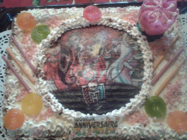 gâteau anniversaire 2