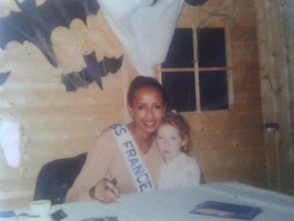 Sonia Roland Misse France 2000 et moi petite