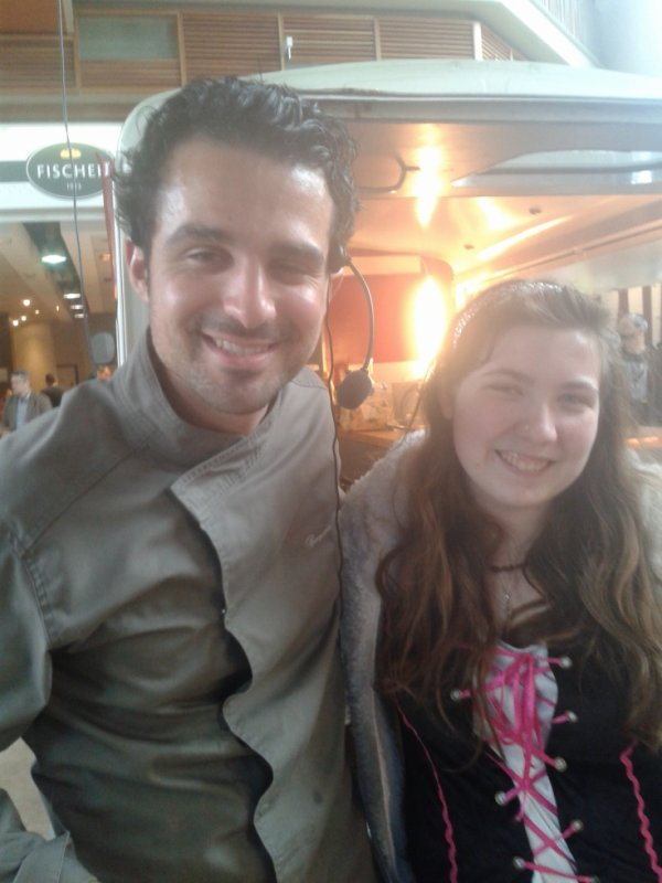 Avec Benjamin Kalifa de Top Chef 1