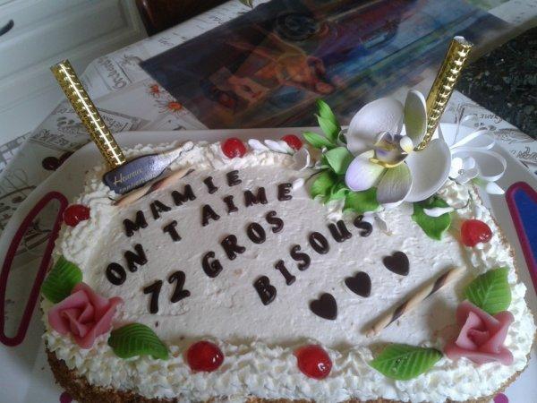 Le gâteau pour mamie