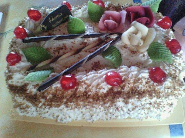 Gâteau pour toi je t'aime Maman :)