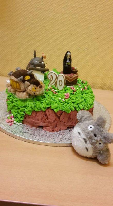 Mon gâteau pour mes 20 ans