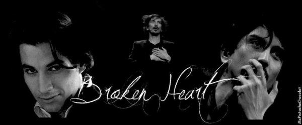 Fiction; Broken Heart --- chapitre premier
