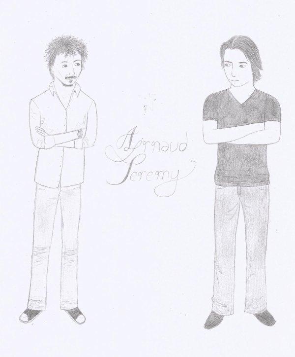 Dessin Arnaud/Jeremy