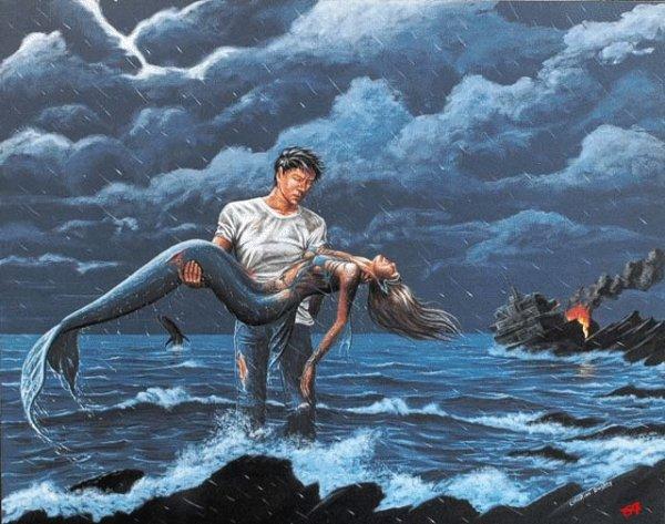sauvetage d'une sirène