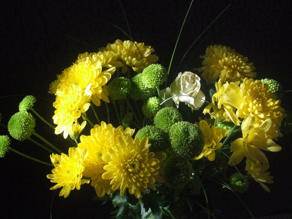 La beauté de ce bouquet