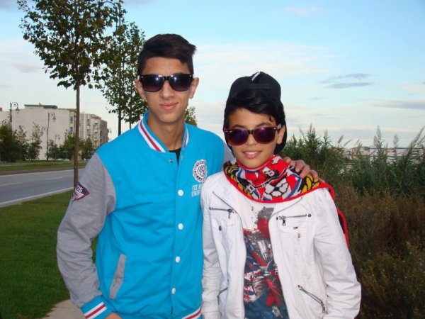 con hermano