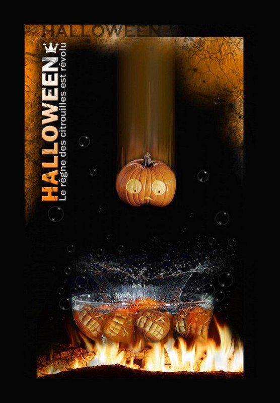 """"""" Jour """" J """" - 3 ... Halloween ..."""